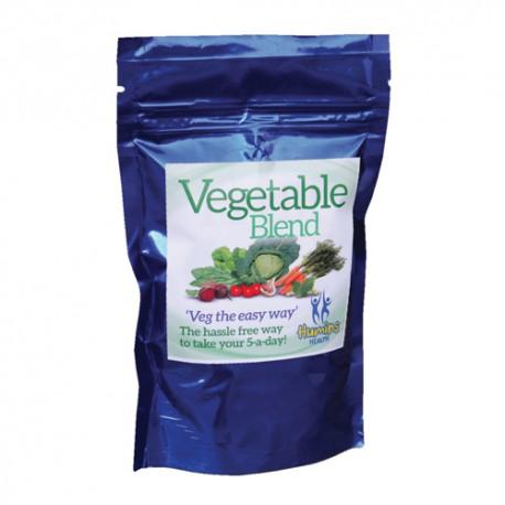 Vegetable blend capsules